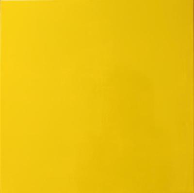 gelb - Lack auf Leinwand 40x40 - Malerei Carola Malter